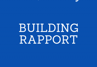Building Rapport: How to never look like a salesperson.