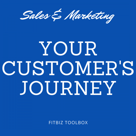 "Your Customer's Journey (why they buy, and why they just ""think about buying"")."