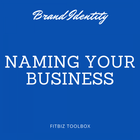 Three Steps to Creating a Great Name