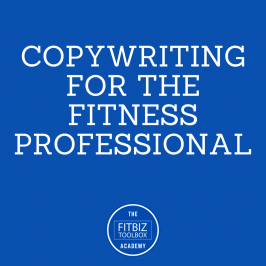 Copywriting for the Fitness Professional